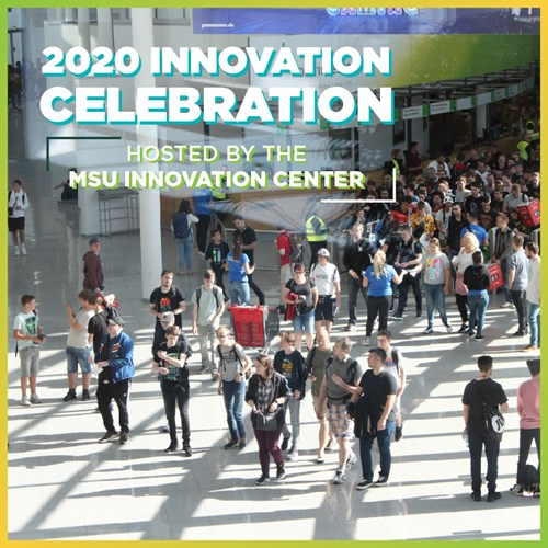Join the MSU Innovation Center in hosting the 2020 Innovation Celebration, where they will display innovative technologies and startups from labs, classrooms, and beyond. Registration and more information can be found at the #LinkInBio