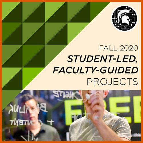 Fall 2020 Student-Led, Faculty-Guided projects.